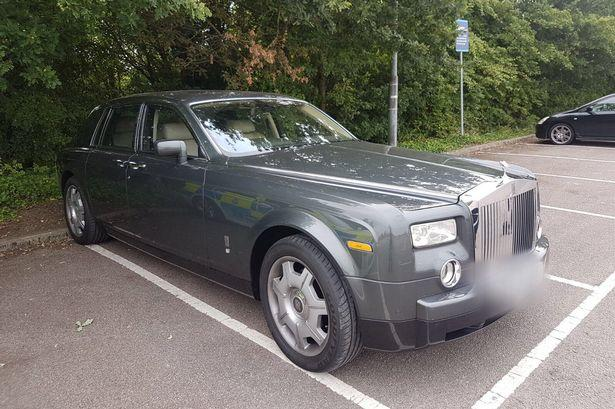 rolls royce theft in Leicester