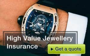High value jewellery insurance
