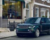 Road Parked Range Rover