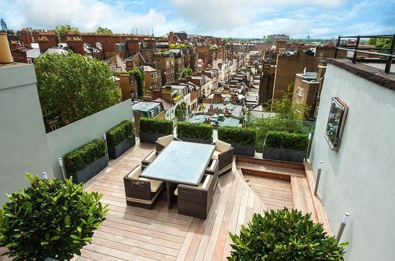 flat roof insurance London