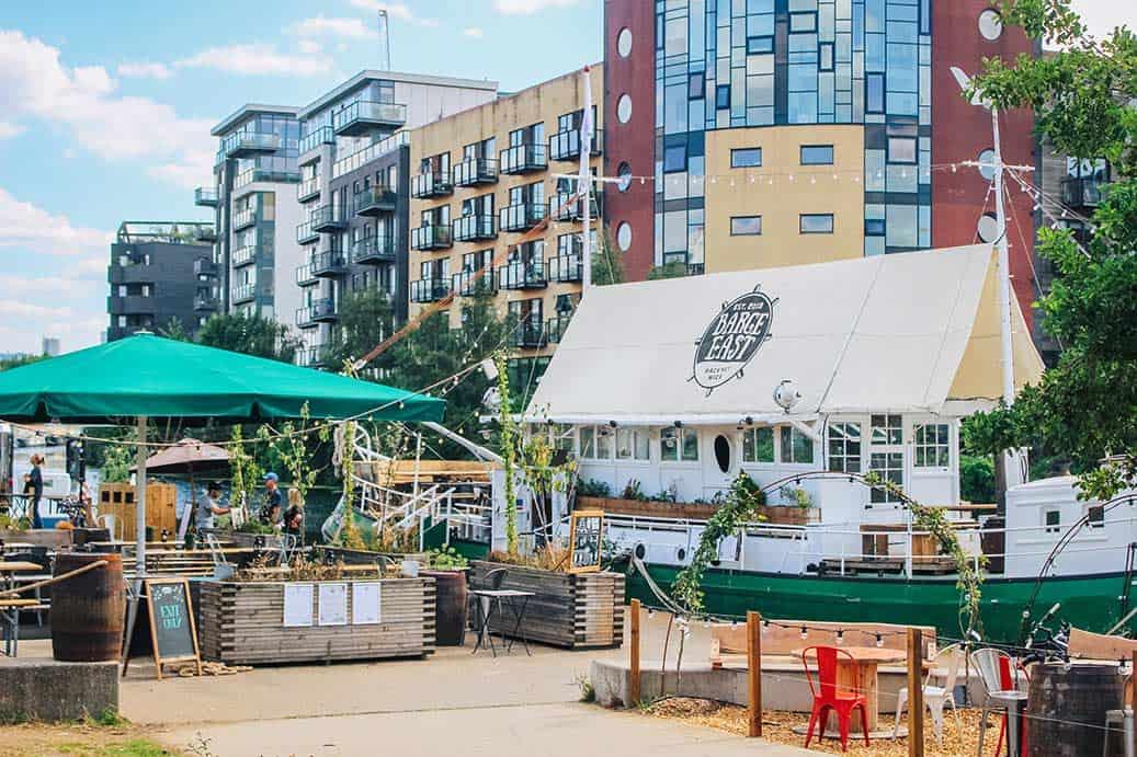 Top bars in Hackney London